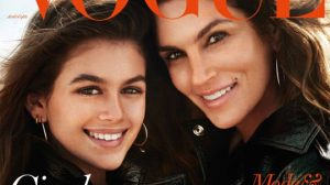 Первая обложка: дочь Синди Кроуфорд Кайя Гербер для Vogue Paris