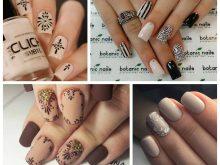 18 вариантов дизайна ногтей в бежевом цвете