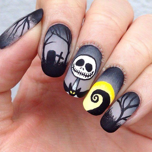 Страшилки на ногтях