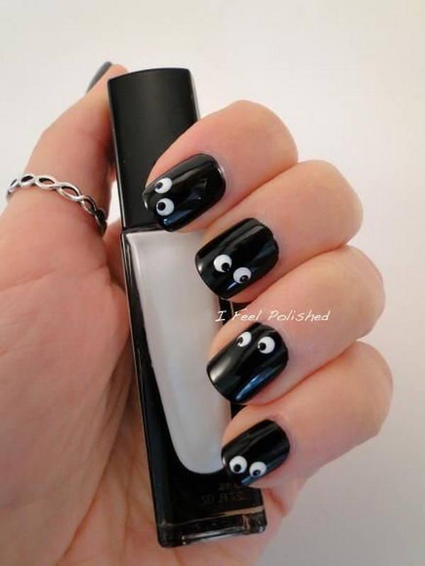 Персонажи на ногтях