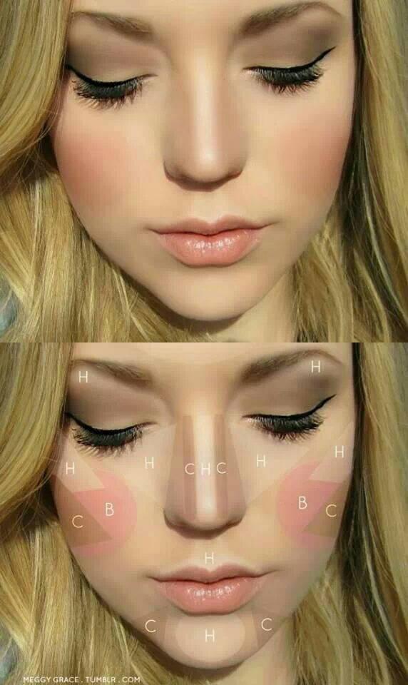 Уроки по макияжу: Контуринг лица