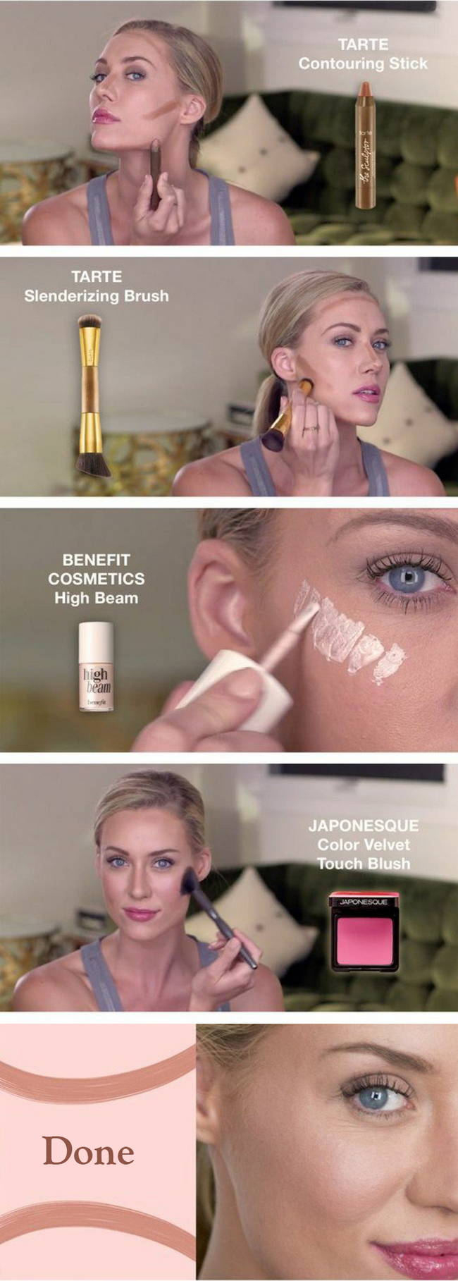 Инструкции по макияжу: Контуринг лица
