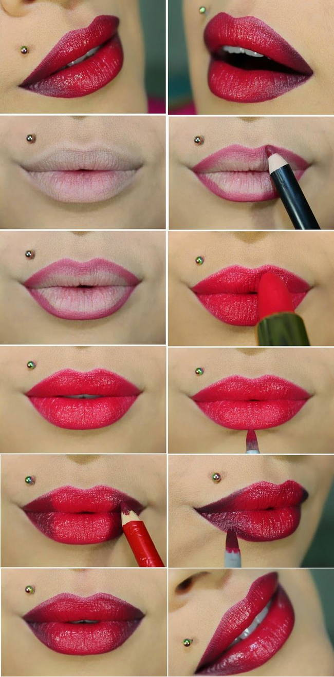 Контуринг губ