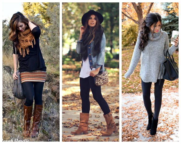 Лучшие советы, с чем носить леггинсы этой осенью