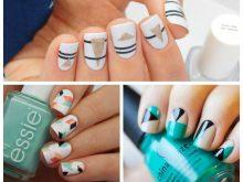 Стильные геометрические рисунки на ногтях: подборка лучших идей (40 фото)