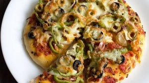 Итальянская вегетарианская пицца: пошаговый рецепт с фото