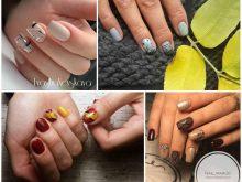 Осенний маникюр на короткие ногти: 100 вариантов из Instagram