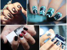 Зимний маникюр: 180 фото зимнего дизайна ногтей