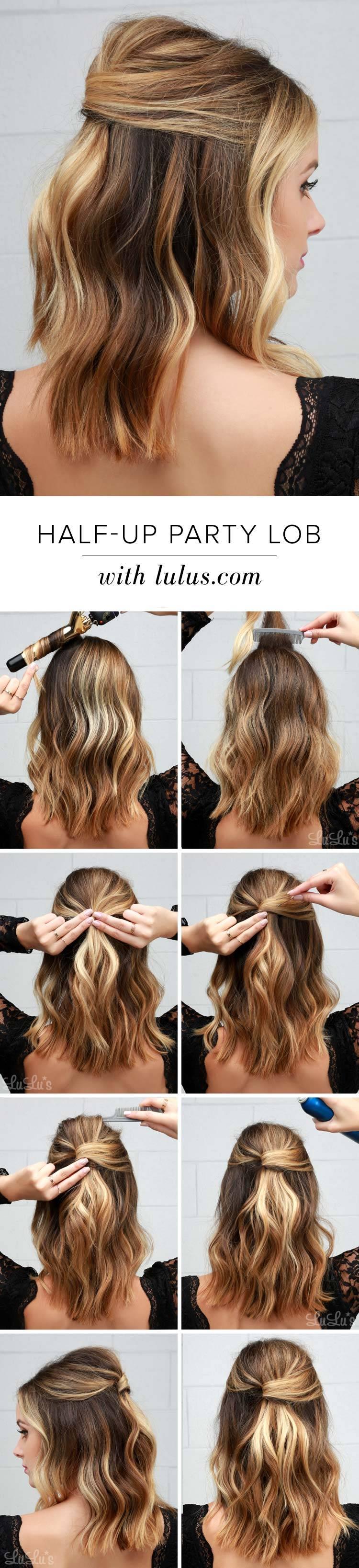 Красивая прическа на средние волосы: Прическа Мальвина