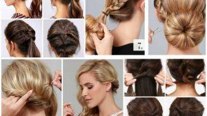Красивые причёски на средние волосы на каждый день: 25 пошаговых примеров