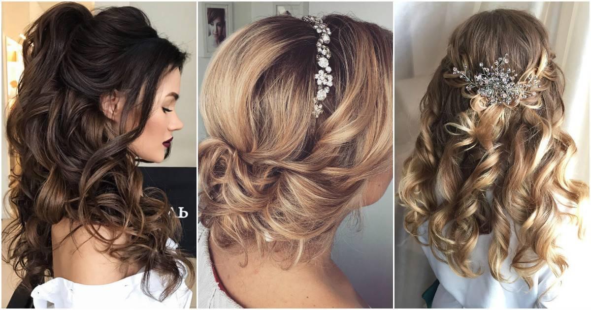 5f7c4e33f83 Красивые свадебные прически на любую длину волос (180 фото)