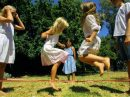 Подвижные игры с детьми на пикнике