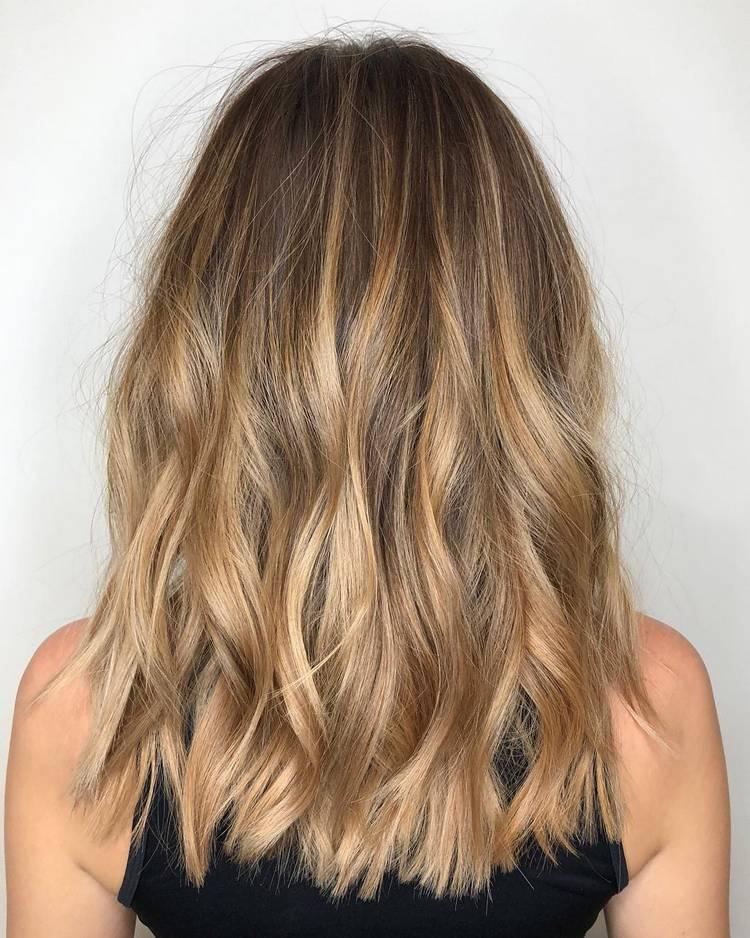 Фото эффект выгоревших волос