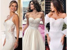 Свадебные платья: 150 фото всех фасонов и стилей