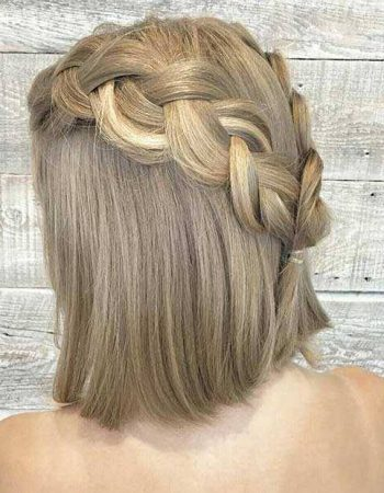 wedding hairstyles for short hair half up half down Beautiful 31 half up half down prom hairstyles stayglam