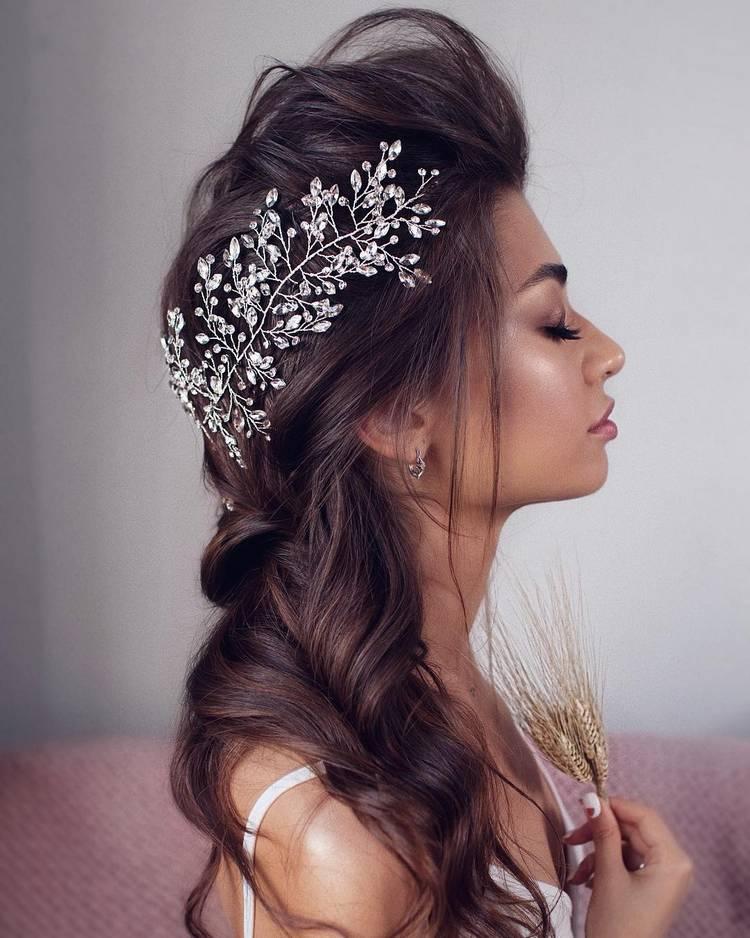 Свадебная прическа 2019 в стиле бохо