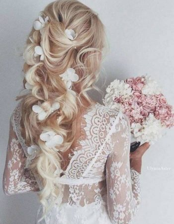 long hair wedding Elegant 63 Beautiful Wedding Hairstyle for Most Important Moment