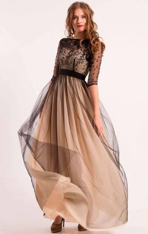 Куда надеть вечернее платье?