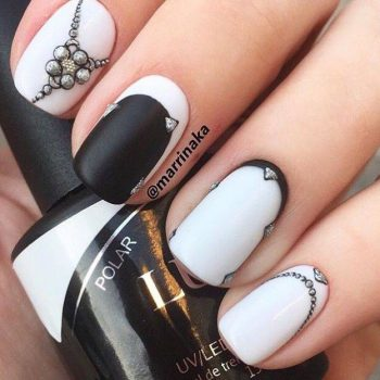 JamAdvice_com_ua_black_and_white_manicure_for_short_nails_9