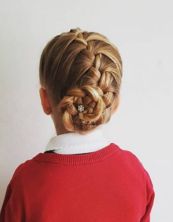 JamAdvice_com_ua_beautiful-hairstyles-for-school-Bunch_2