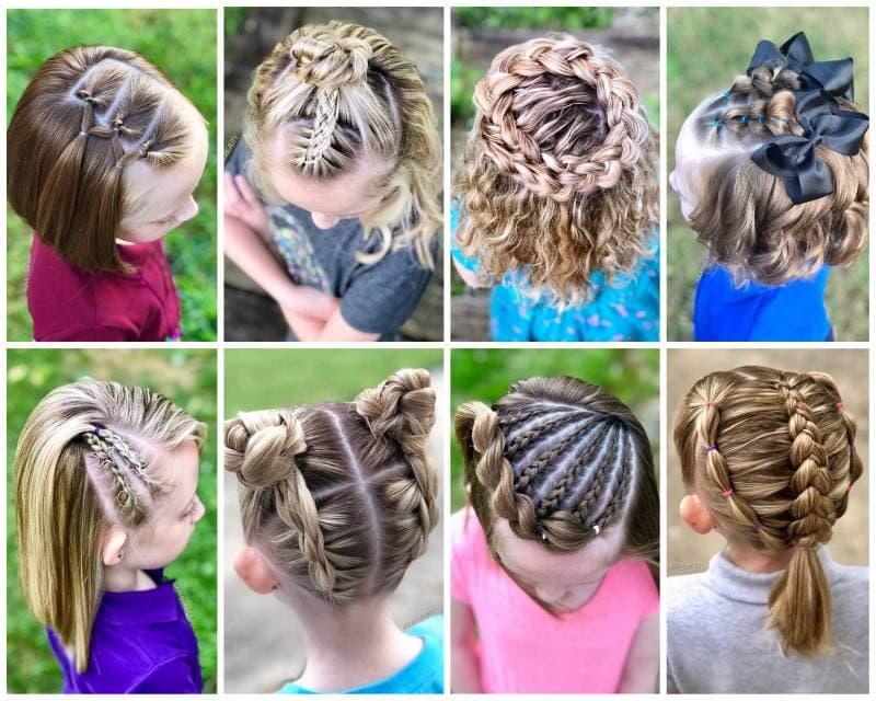 Топ 30: Красивые прически в школу на короткие волосы