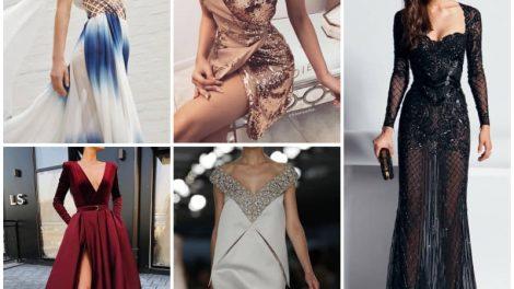 Самые модные тенденции в вечерних нарядах в 2019 году