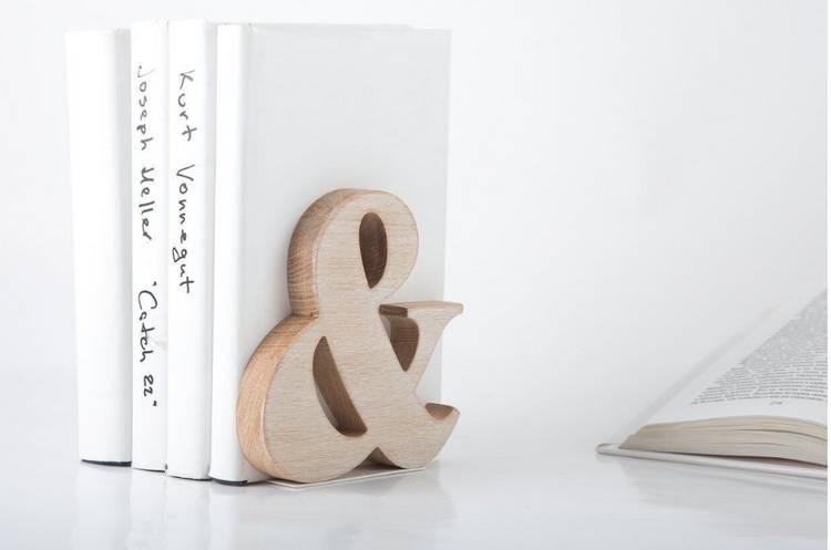Как сделать подставку для книг своими руками