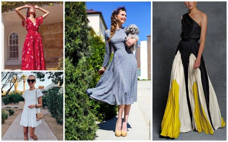 Самые модные платья-2020: длина, фасоны и расцветки