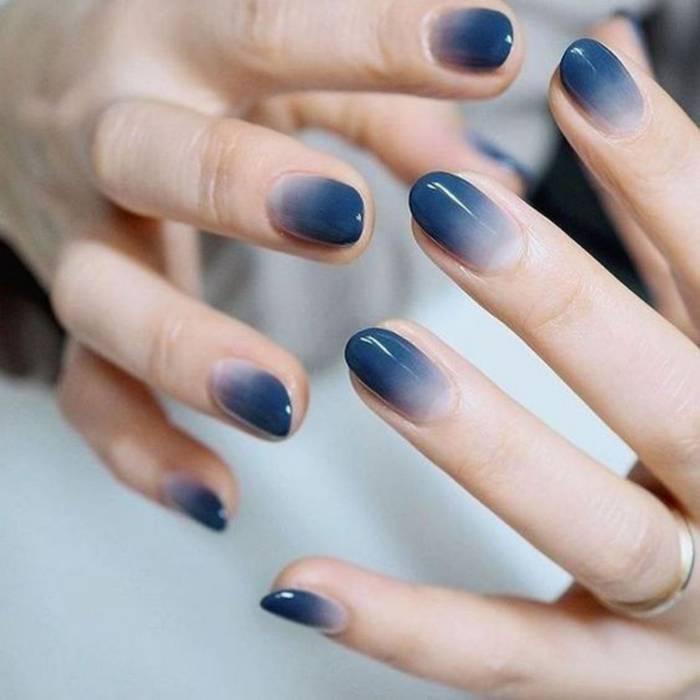 Маникюр на коротких ногтях