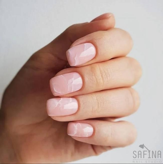 Нюдовые ногти 2020-2021