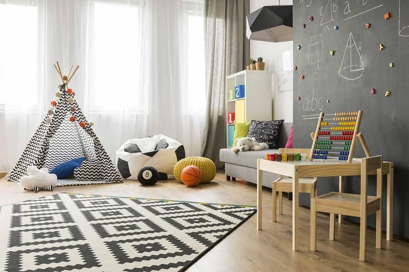 Бескаркасные пуфы: Как создать уют и настроение в детской комнате