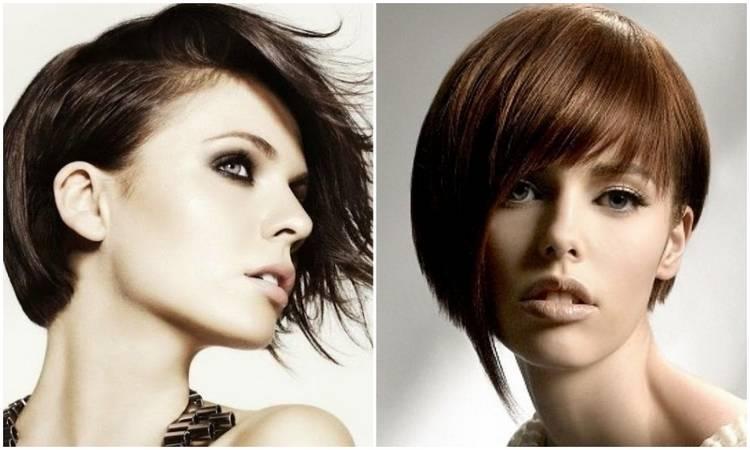 Красивая стрижка на короткие волосы