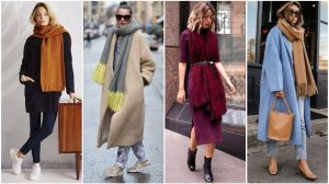 Какие шарфы носить в новом сезоне: обзор модных аксессуаров