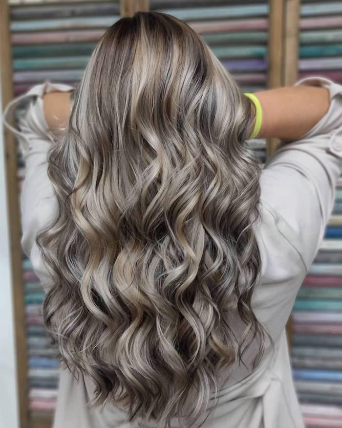Роскошный цвет волос