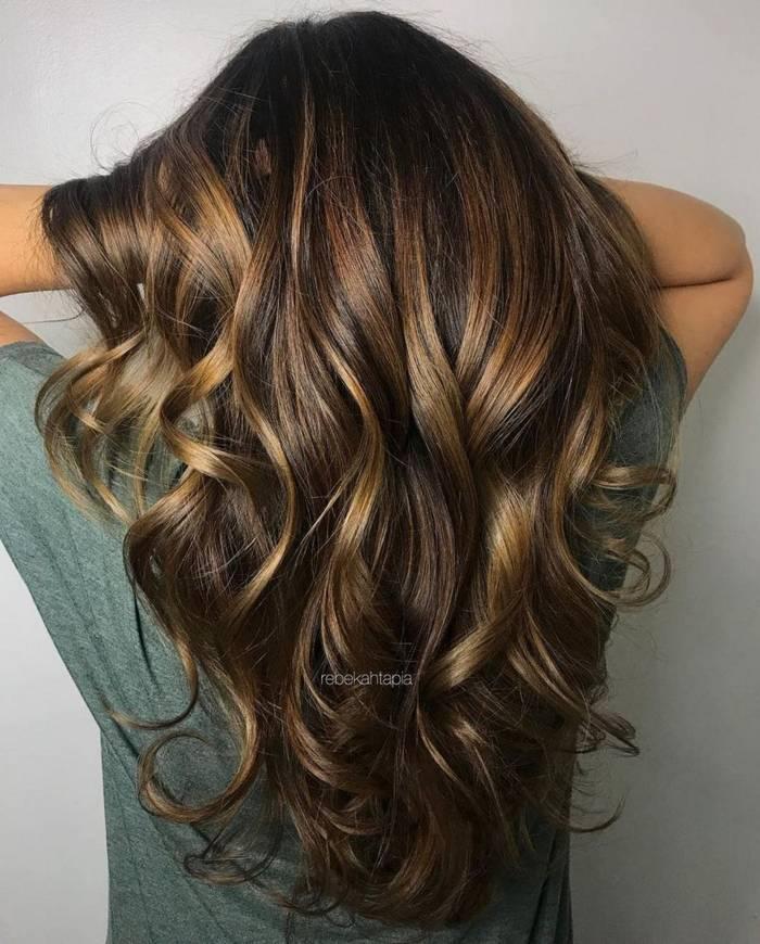 Богатый цвет волос