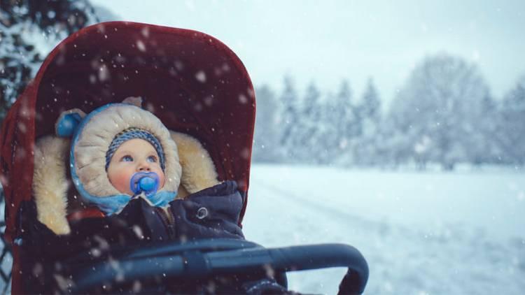 Как правильно одевать малыша в зимний период?
