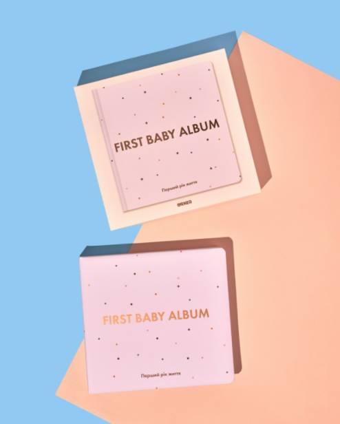 Как оформить альбом малыша