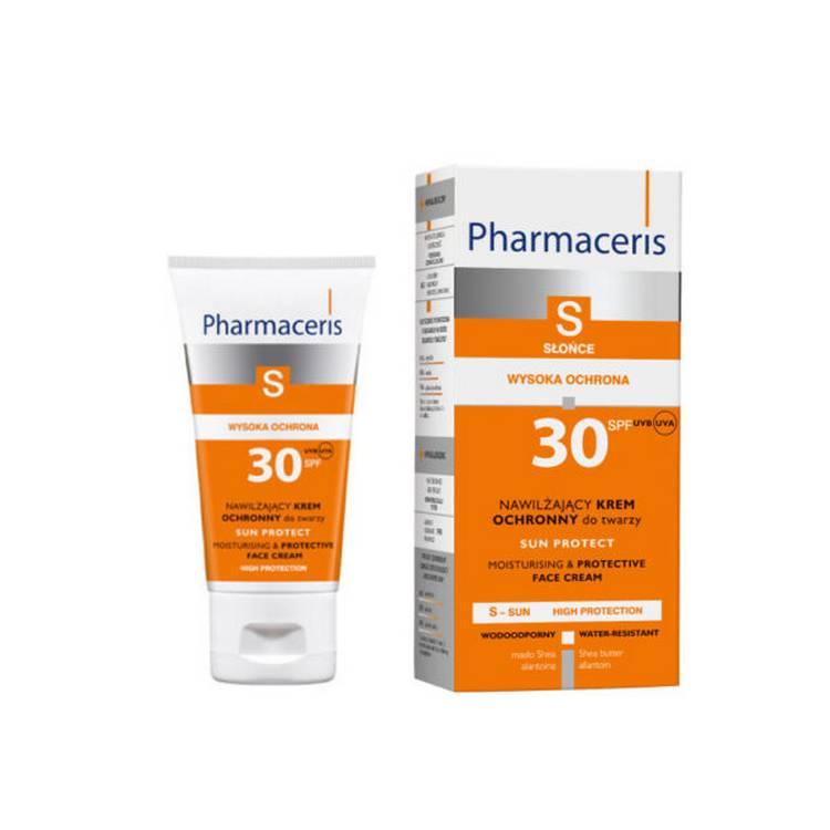 Выбрать крем Pharmaceris S SPF30 (UVA/UVB)