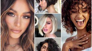 Женские стрижки на средние волосы: Лучшие хиты 2021 на фото