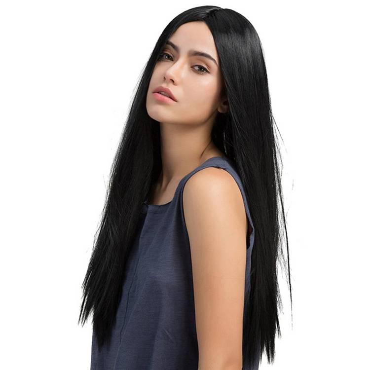 Прямые прически длинные волосы