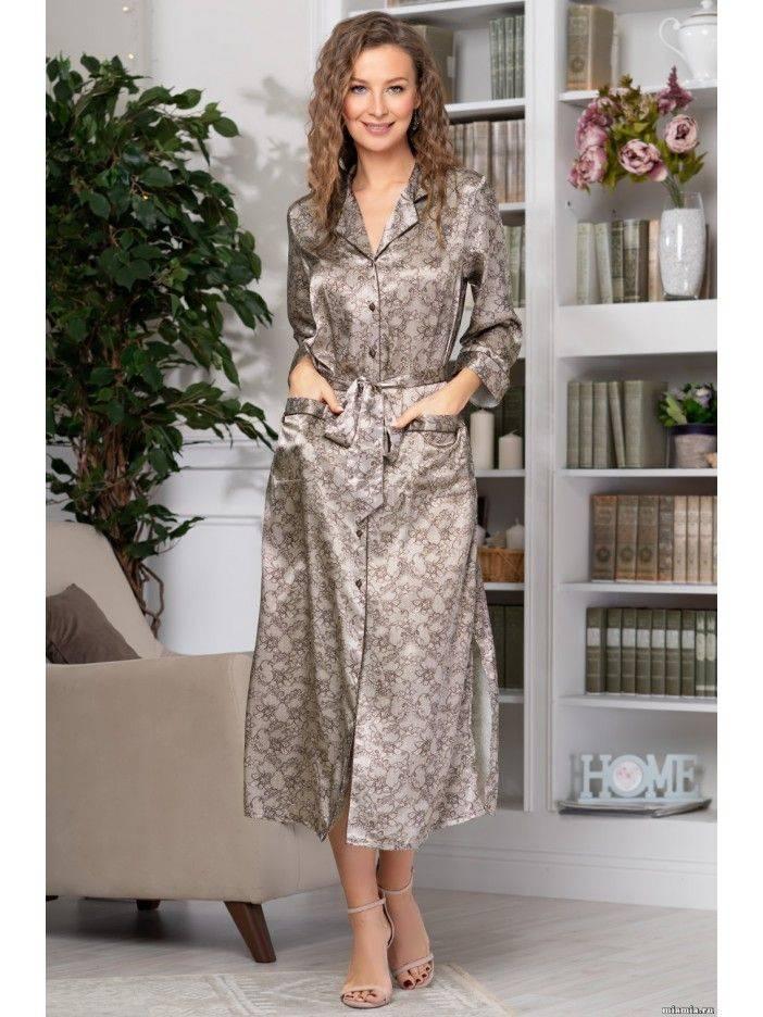 Шелковая домашняя одежда из Италии — мастхэв женского гардероба