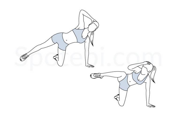Упражнения для тонкой и красивой талии