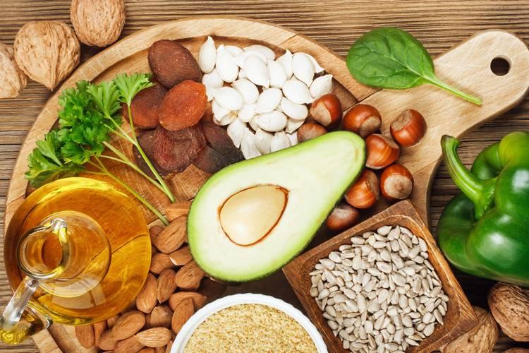Витамины для роста волос - витамин E