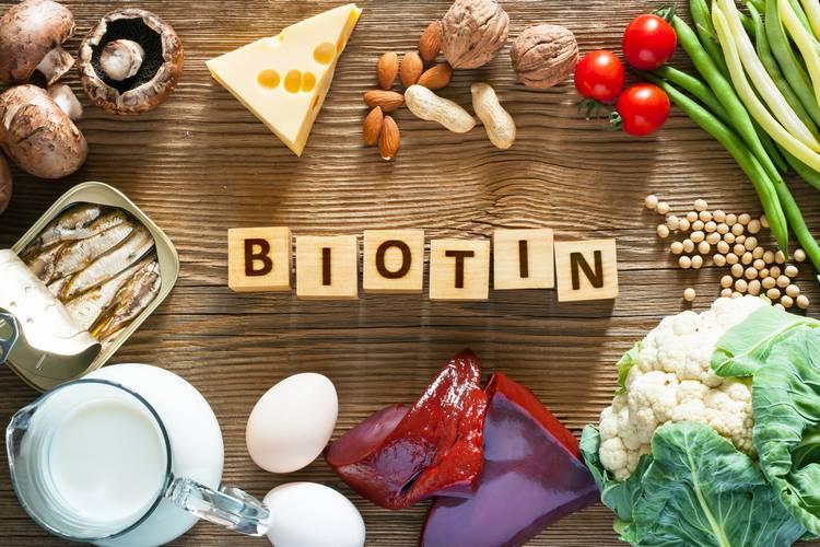 Витамины для волос - Биотин