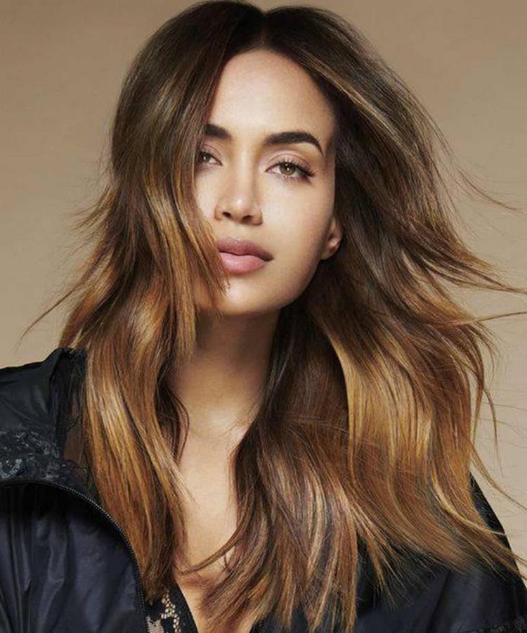 Объёмные женские стрижки для длинных волос